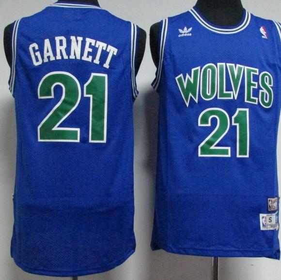 Kevin Garnett Timberwolves  21 Throwback Jersey fe8b71af1